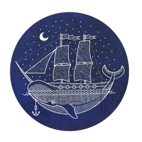 Narwhal Ship Jigsaw Puzzle