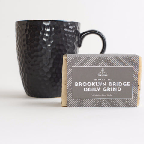 Brooklyn Bridge Daily Grind Bar Soap - Mimosa Goods - 1