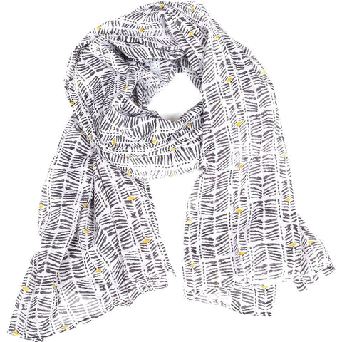 Cotton Voile Scarf by Graymarket - Moshi - Mimosa Goods