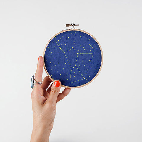 Orion Constellation Embroidery Kit - Mimosa Goods - 1