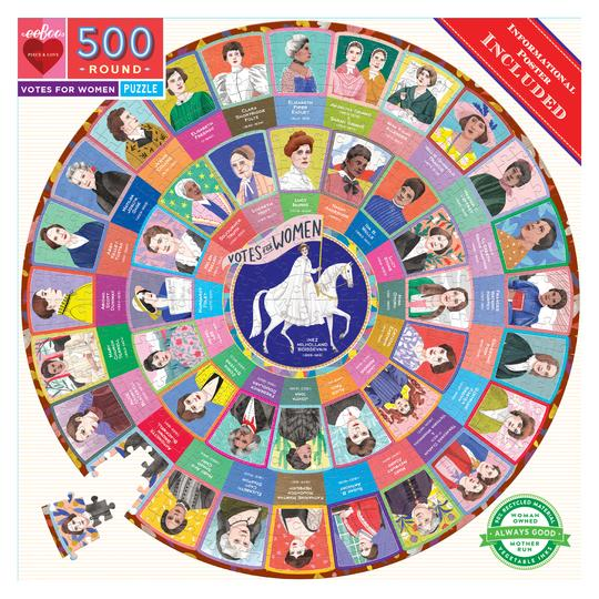 Votes for Women 500 Piece Puzzle by eeBoo