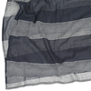 Cotton Voile Scarf by Graymarket - Raya Stripes Navy - Mimosa Goods - 1