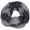 Cotton Voile Scarf by Graymarket - Raya Stripes Navy - Mimosa Goods - 2