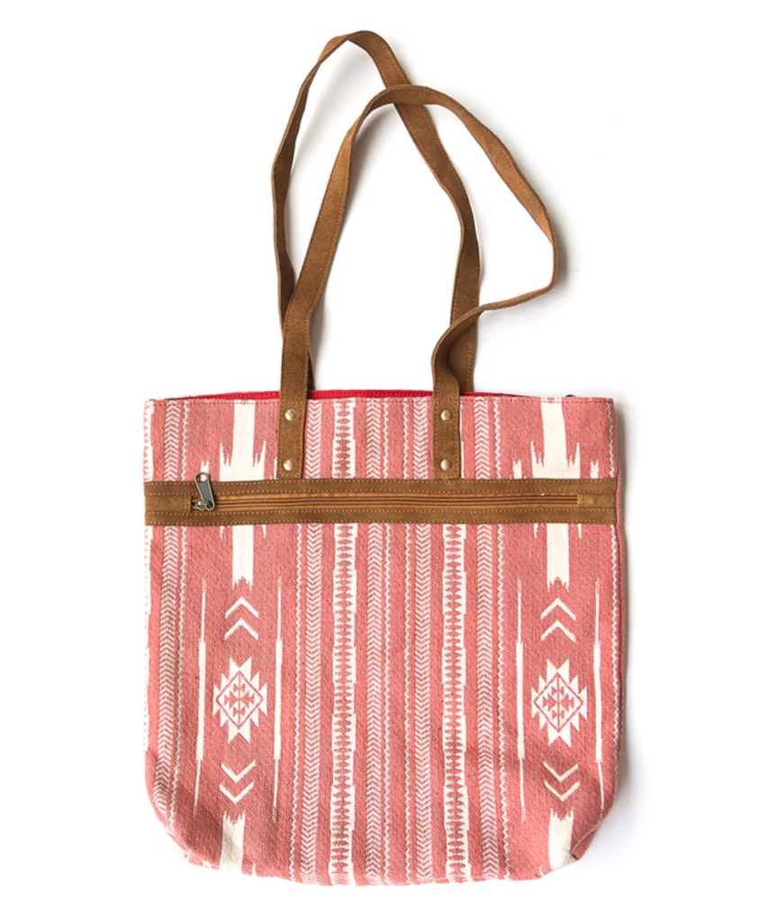 Rover Patterned Purse in Pink