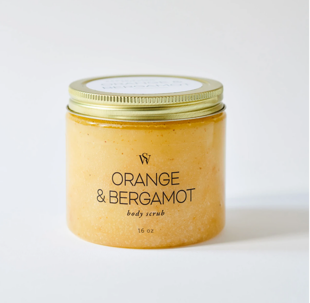 Orange & Bergamot Body Scrub