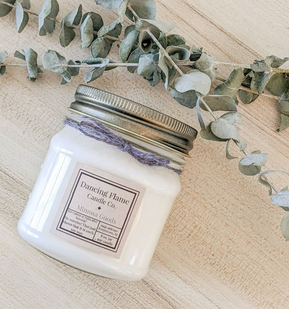 Dancing Flame Candle Co. - Mimosa Goods