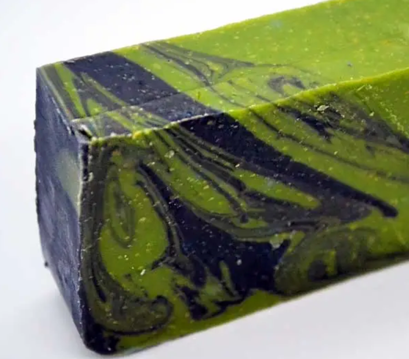 Cake Face Soaping - Tea Mint - 4.5 Bar Soap
