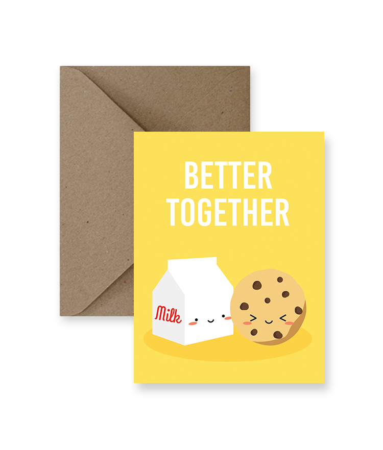 ImPaper - Better Together Greeting Card