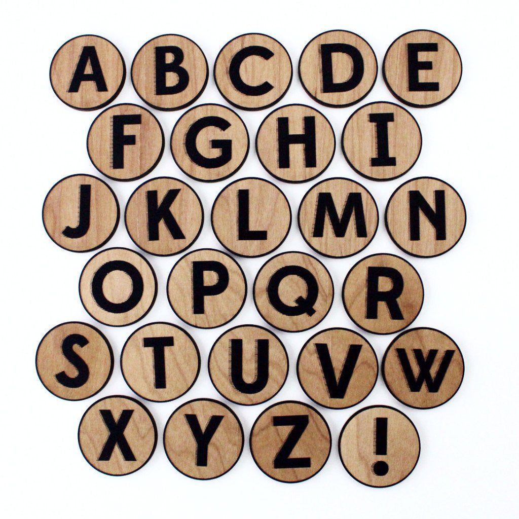 Alphabet Magnet Set - Mimosa Goods - 1