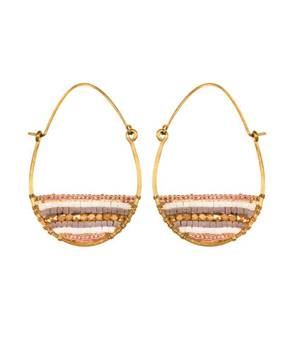 Beaded Drop Earrings by Purpose