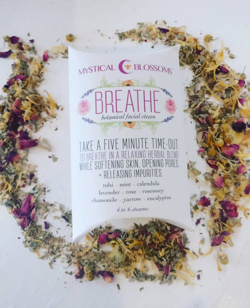 Breathe Botanical Facial Steam by Mystical Blossoms