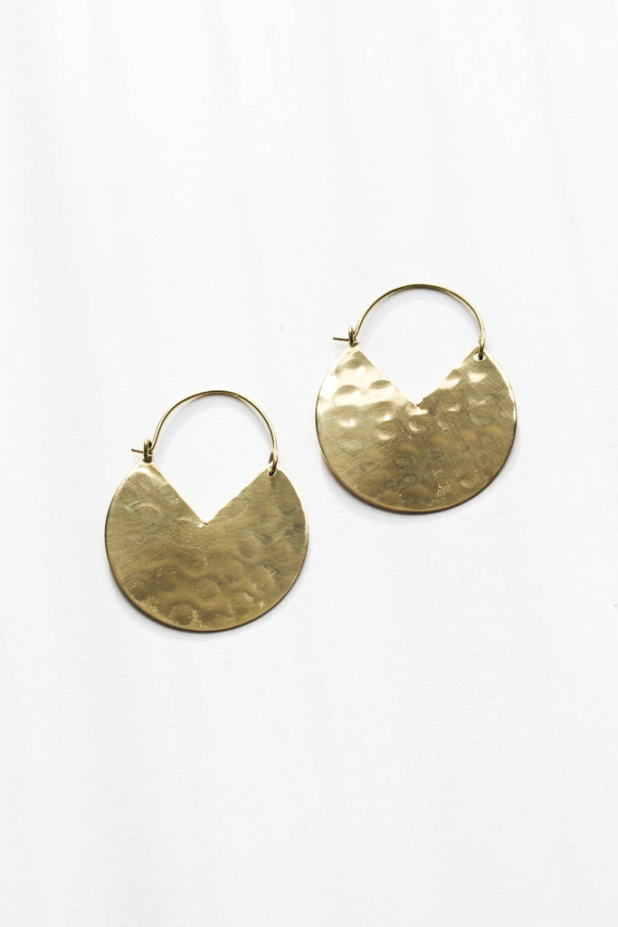 Rover & Kin - Small Pacman Hoops Earrings