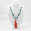 Caribbean Tassel Necklace