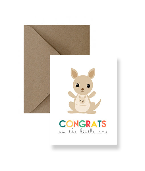 ImPaper - Congrats On The Little One Baby Card