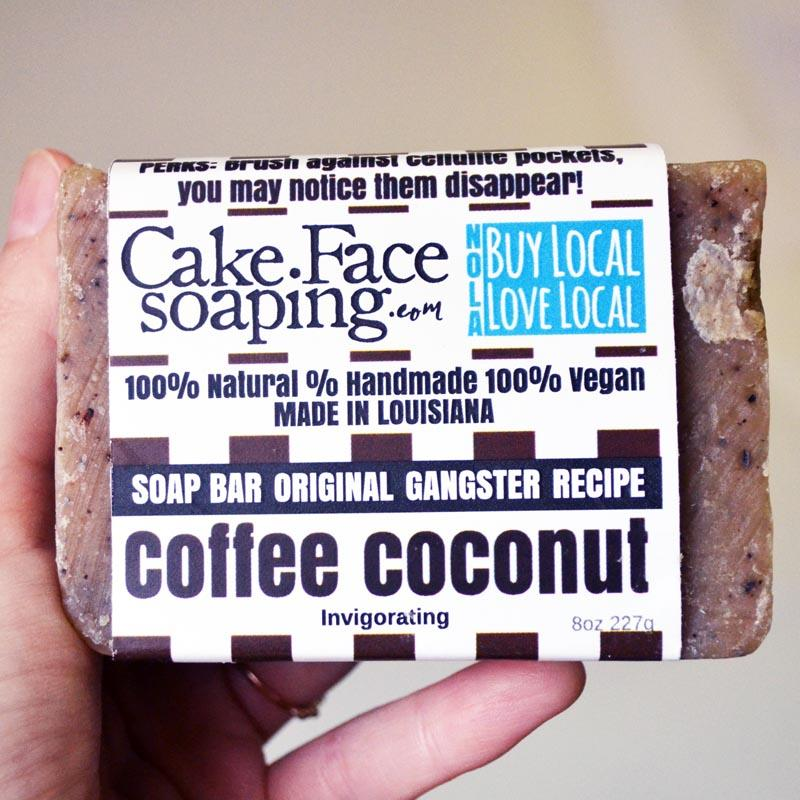 Cake Face Soaping - Coffee Coconut - 4.5 Bar Soap