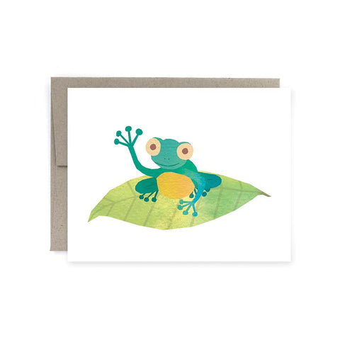 Art of Melodious - Tree Frog Card