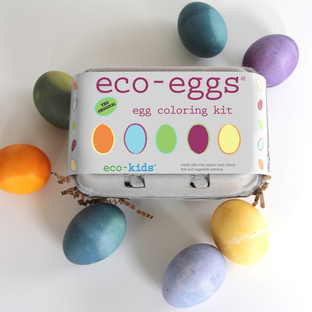 eco-eggs coloring and grass growing kit - Mimosa Goods - 1