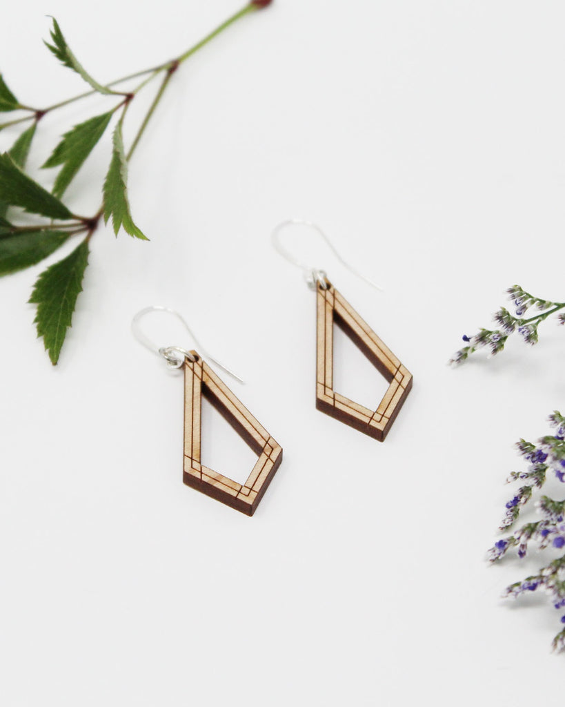 Ervaye Earrings by Emaye Design