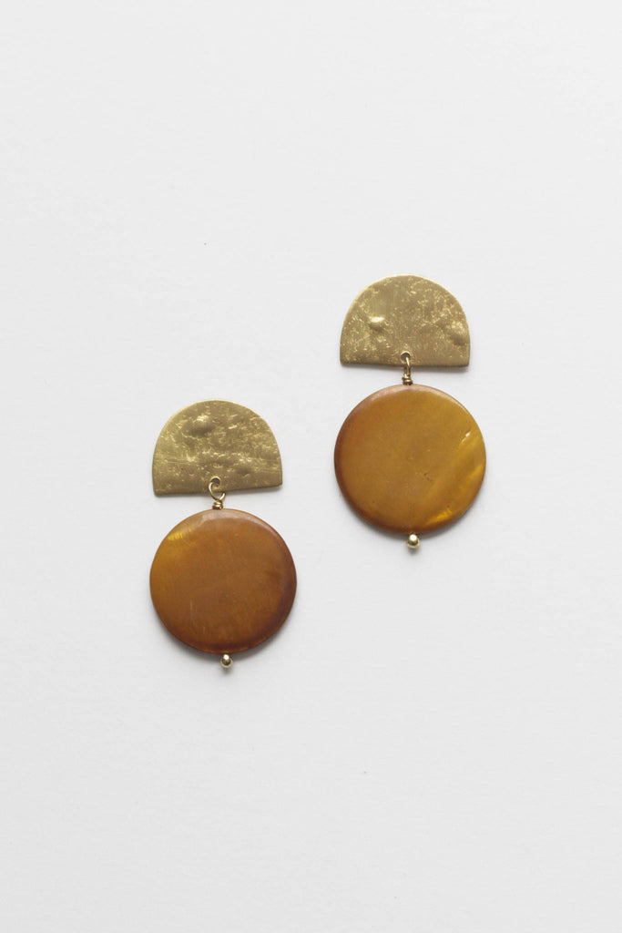Rover & Kin - Mother of Pearl Earrings