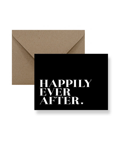IMPAPER - Happily Ever After Wedding Card