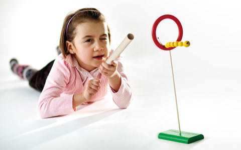 Flying Caterpillar - Wooden Target Toy