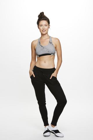 Gia Jogger in Black - Mimosa Goods - 1
