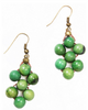 Acai Seed Earrings | Green - Mimosa Goods - 2