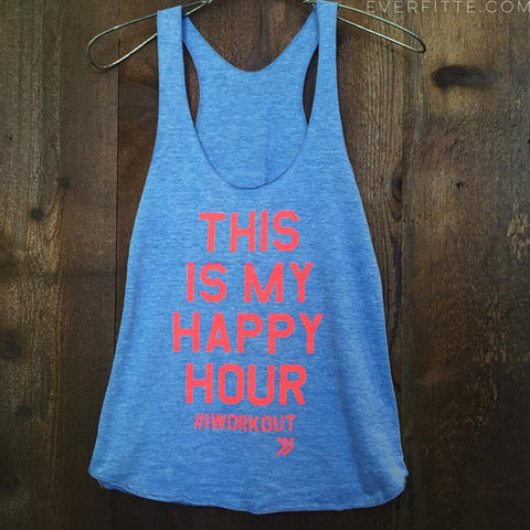 This Is My Happy Hour tank - Mimosa Goods