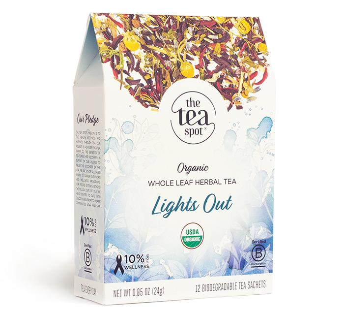The Tea Spot - Lights Out - Box of 12 Sachets