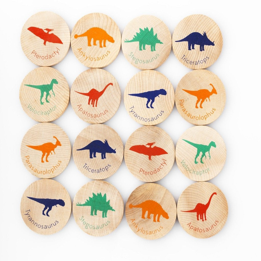 Match Stacks Dinosaurs - Mimosa Goods - 1