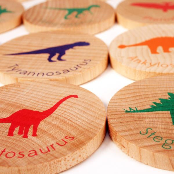 Match Stacks Dinosaurs - Mimosa Goods - 2