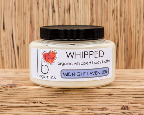 Organic Body Butter - Midnight Lavender - Mimosa Goods