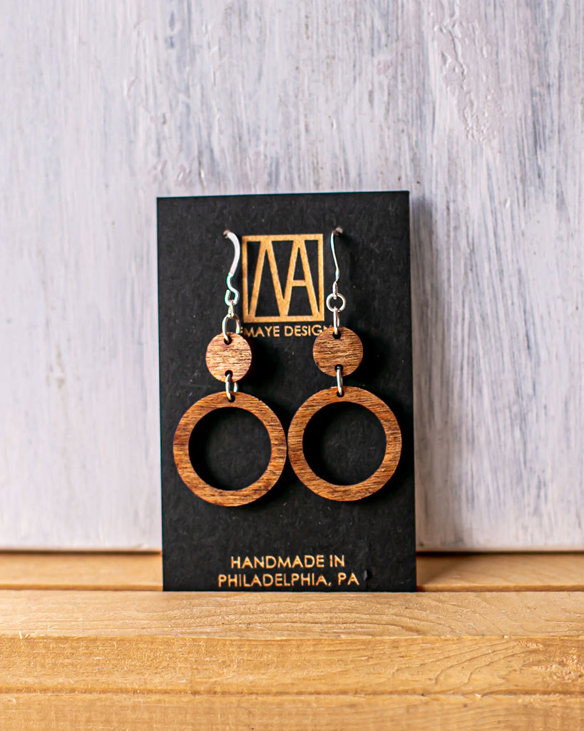 Odaye Earrings by Emaye Design