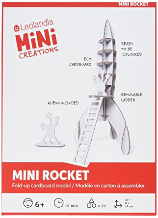 Mini Rocket DIY Cardboard Kit