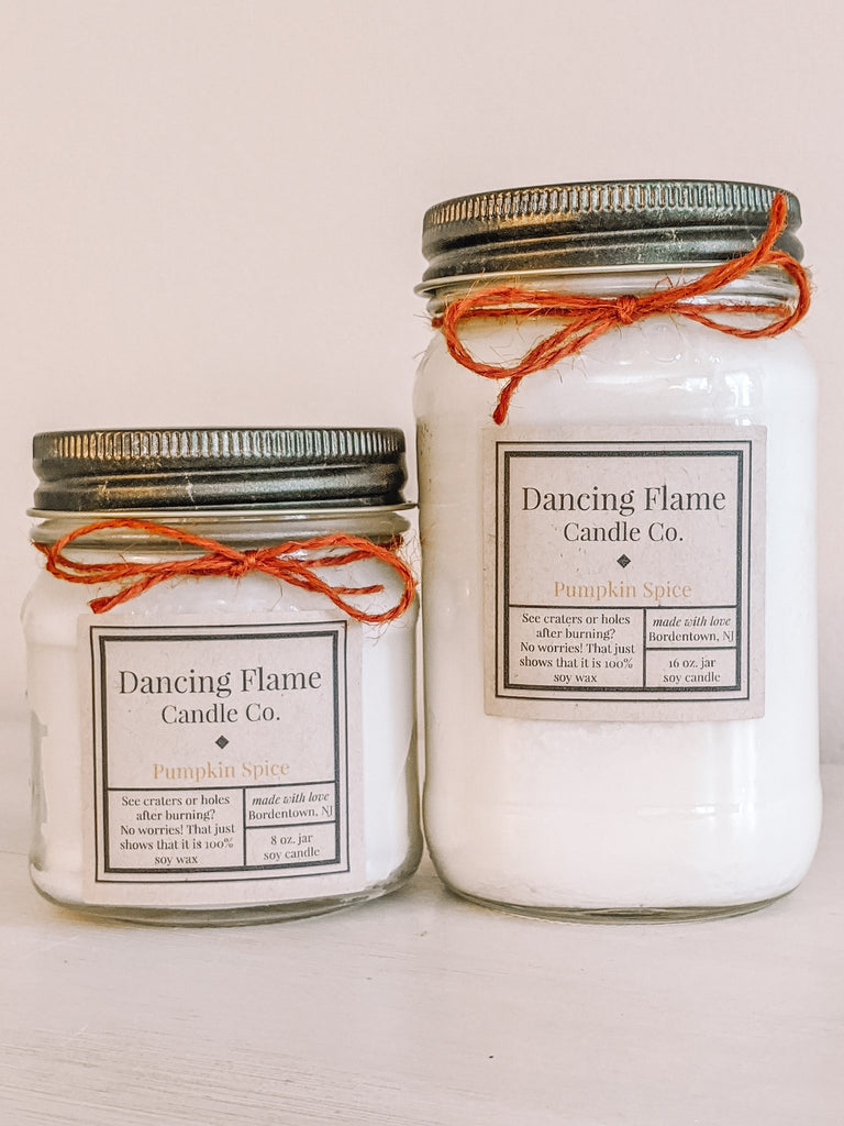 Dancing Flame Candle Co. - Pumpkin Spice