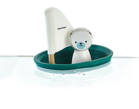 Polar Bear - Sailboat