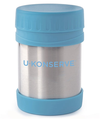 Stainless Steel Insulated Food Jar - Sky