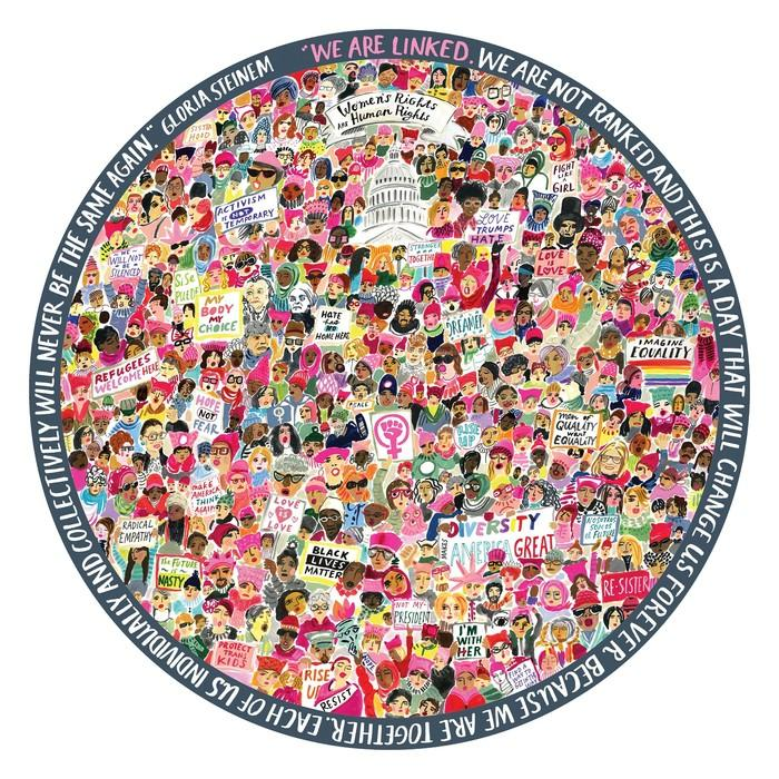 Women's March 500 Piece Puzzle by eeBoo