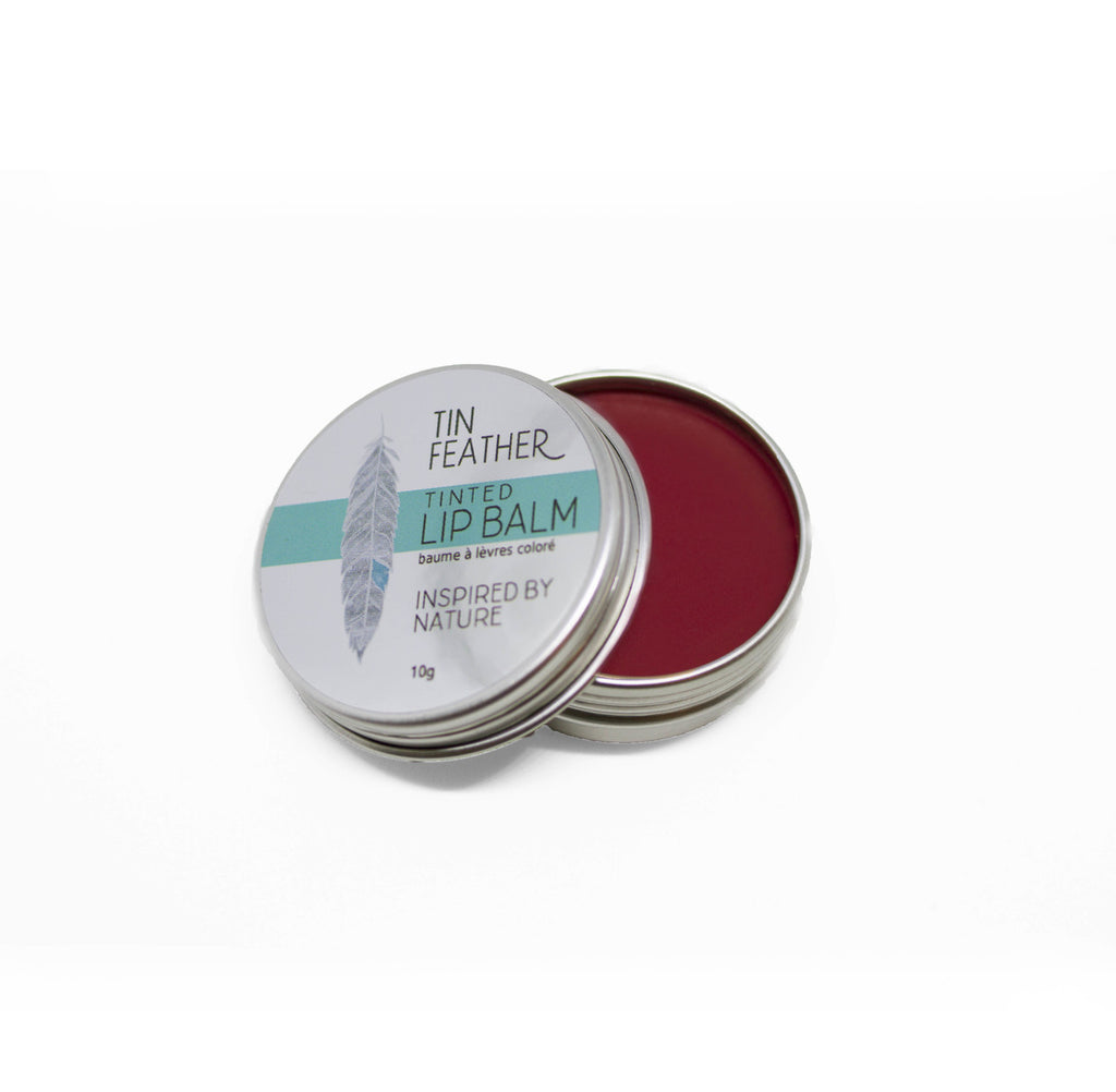 Tin Feather Tinted Lip Balm