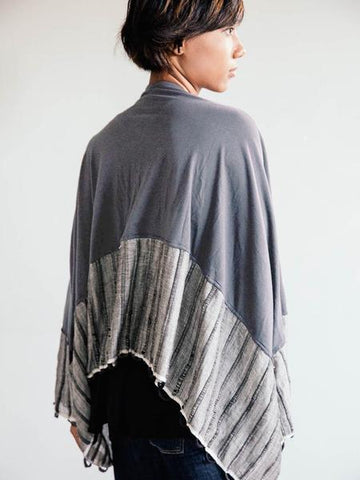 Takeo Cardigan in Grey