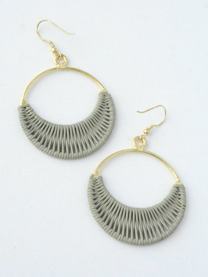 Wrapped Rings Earrings