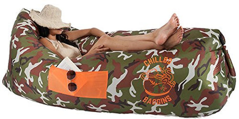 Chillbo Baggins Inflatable Lounger - Camo - Outdoor Gear