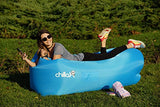 ChillaX Inflatable Lounger w/Carry Bag and Bottle Opener - Outdoor Gear