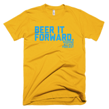 Beer It Forward - Baby Blue Print - T-Shirt