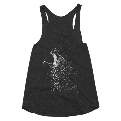 Splatter Wolf - Women's Tank Top