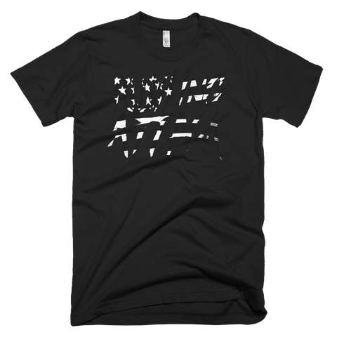 Limited Edition: Rushing Attack - B&W Flag - T-shirt