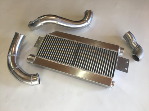 5.0 Coyote Single TO4 Turbo 15-18 Intercooler Kit