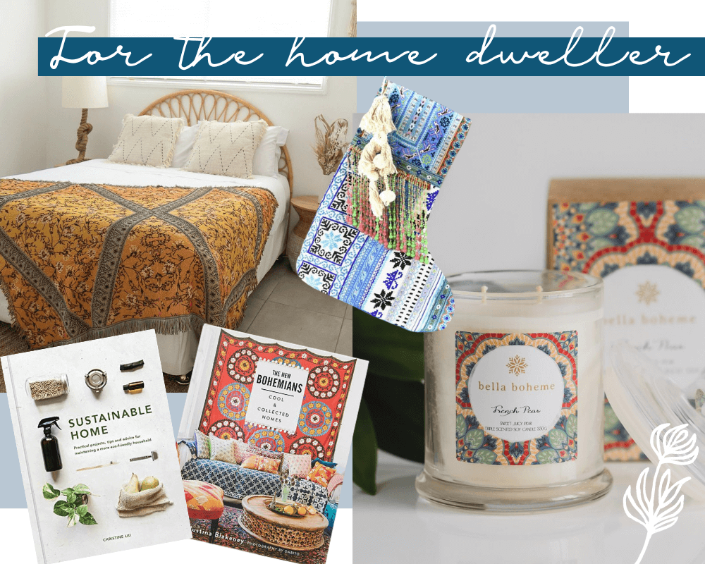 Christmas Gifts for the Bohemian Home Dweller