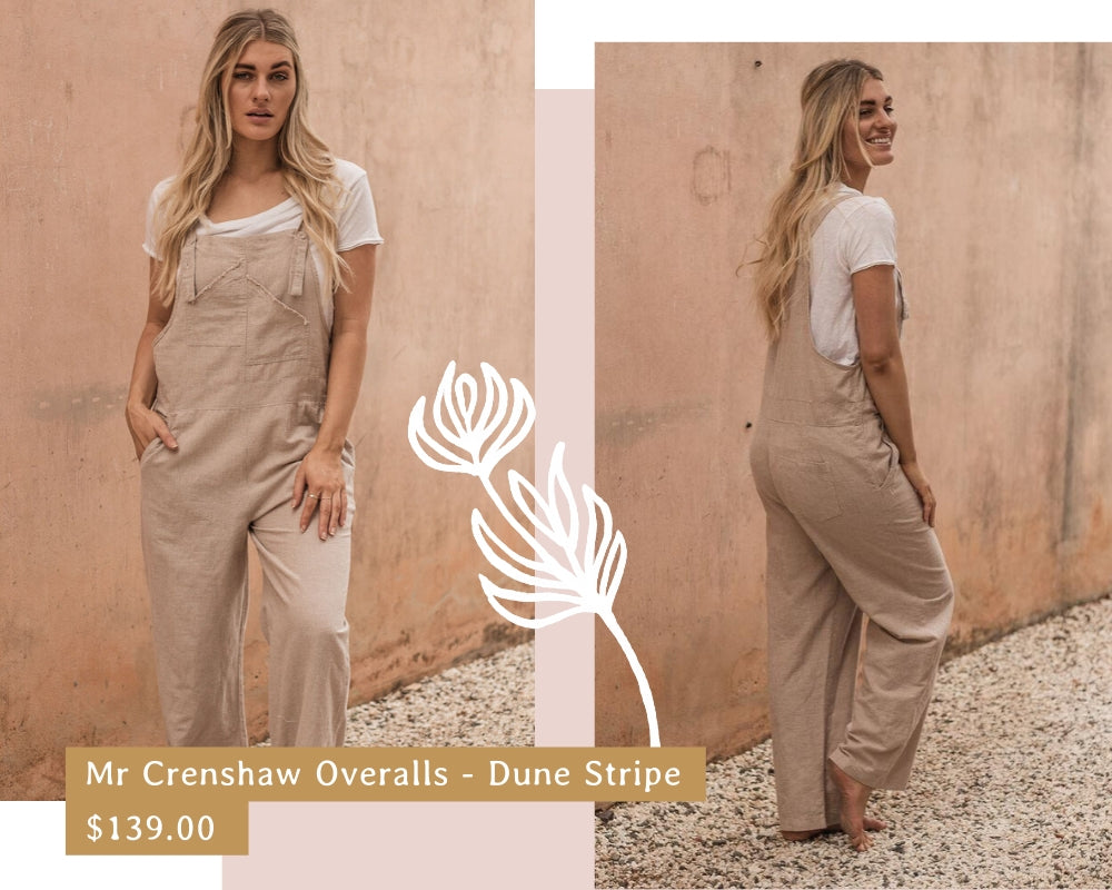 Facts about linen - bohemian clothing - linen overalls