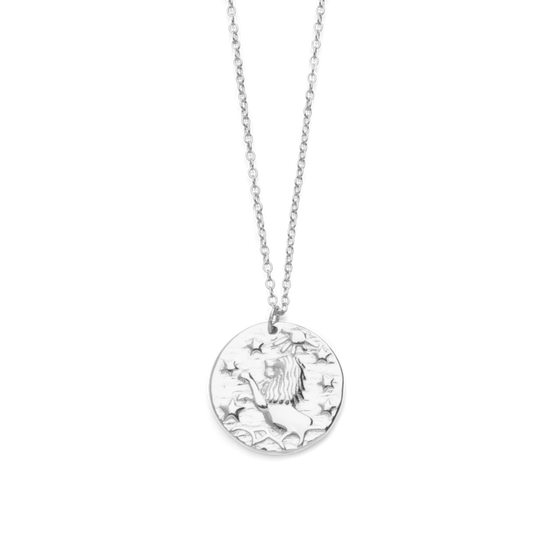 Lion Wild Necklace in Silver